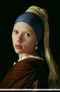 Girl with a Peal Earring